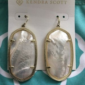 Elle Gold Drop Earrings Kendra Scott